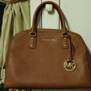 SALE: Michael Kors Saffiano Leather Handbag